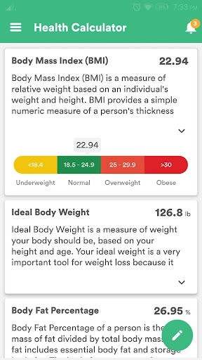 Health & Fitness Tracker with Calorie Counter 2.0.70 screenshots 8