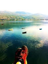 Photo: Lake Ohrid, Macedonia.  September 2012.