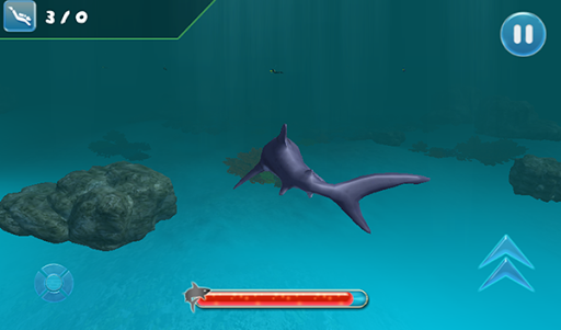 致命的なサメ:海洋シミュレータ