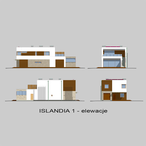Islandia 1 - Elewacje