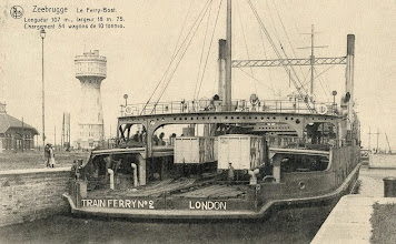 Photo: Harwich-Zeebrugge Train Ferry No. 2