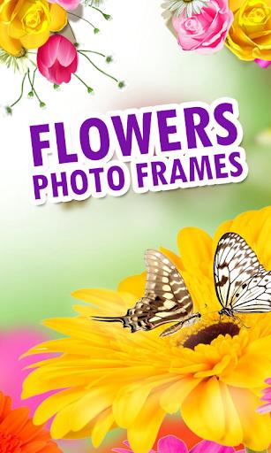 Flowers Photo Frames New