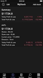 StocksPLUS - náhled