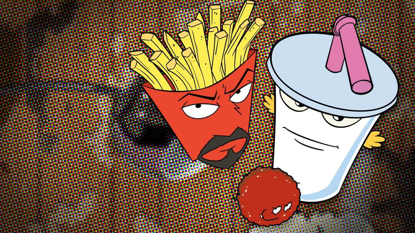Aqua Teen Hunger Force is on Showmax