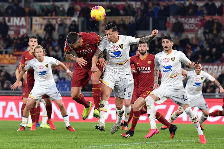 """'Roma geraakt meer en meer gefrustreerd met Manchester United"""""""