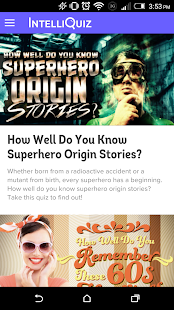 IntelliQuiz- screenshot thumbnail