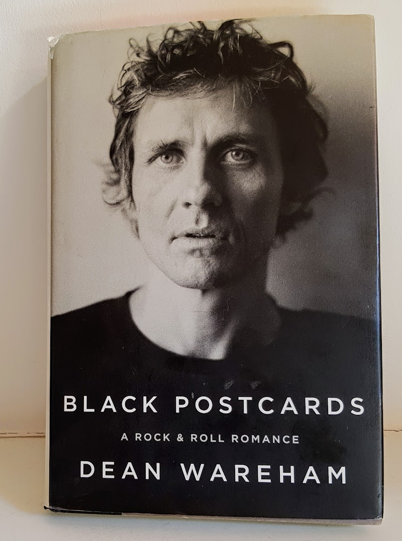 A well thumbed copy of Black Postcards