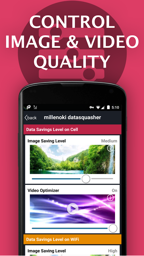 Free VPN datasquasher by millenoki Super Fast VPN- screenshot