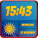 Best Weather and Clock Widget icon