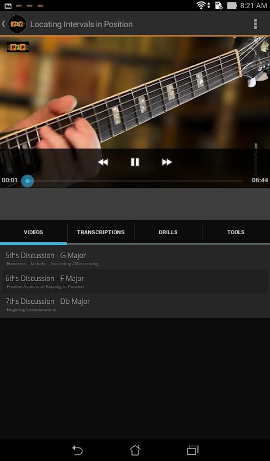 Practisin2Play Guitar Lessons- screenshot