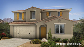 Turquoise II floor plan Encore II Collection by Taylor Morrison Homes in Adora Trails Gilbert 85298