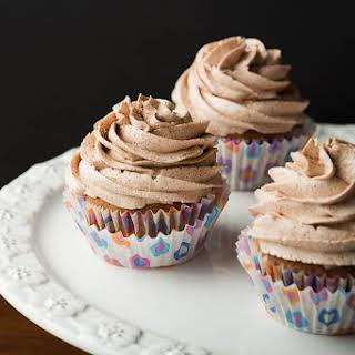 Double Cinnamon Spiced Cupcakes.
