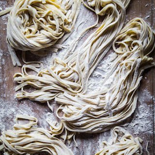 Homemade Egg Noodles (With Pasta Machine).