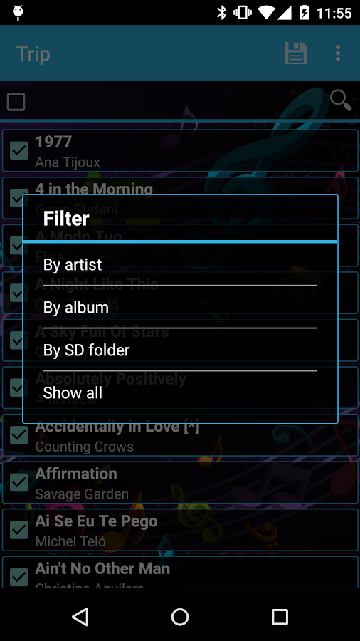 Easy Playlist Editor- screenshot