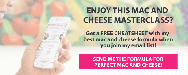 Enjoy this masterclass? Get a free cheatsheet when you join my email list!