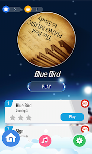 Piano Tap Silhouette 24 Unlocked MOD APK Android 1