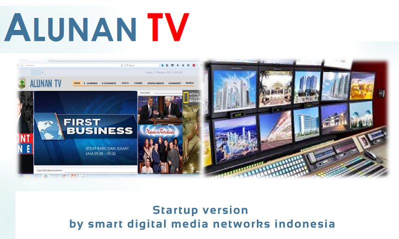 ALUNAN TV startup New Version- screenshot