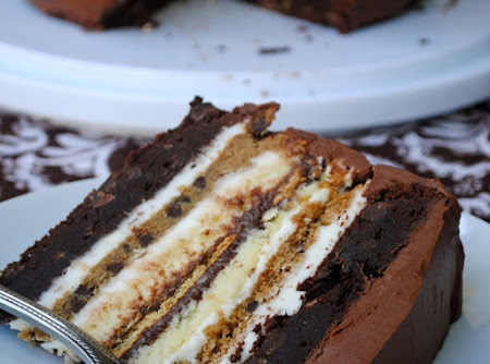 Ultimate S'More Anniversary Cake Recipe