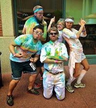 Photo: Charlie's Color Runners (v.2). Photo courtesy of Matt Devore.
