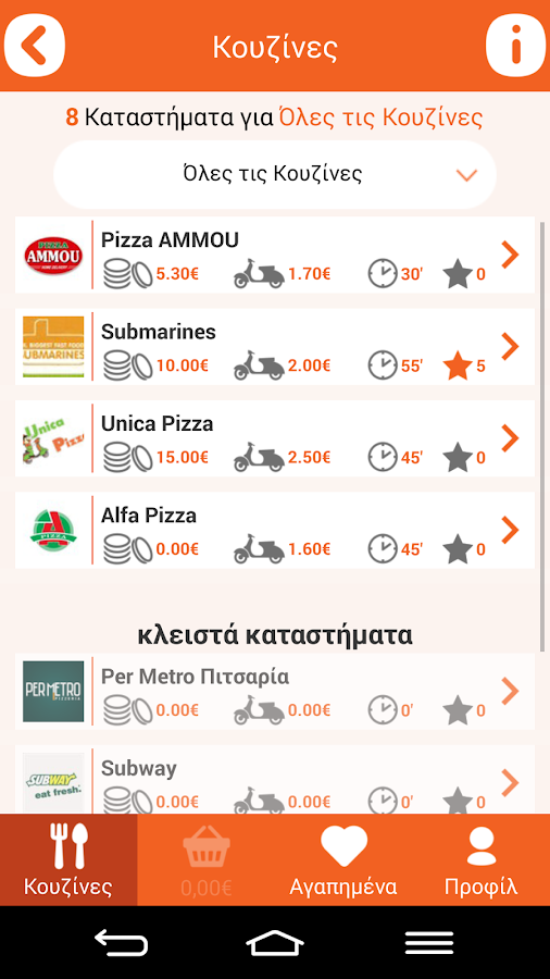 DeliveryMan Food Delivery- screenshot
