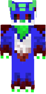From a coot dwagon dogo to a murderous beast! I bring you, Jack gone MAD. LOL! I made this skin for my fwend for halloween, I really hope they likez it so yayyyy! :3 ~SaffhireFox (Now known as SapphiricFox)
