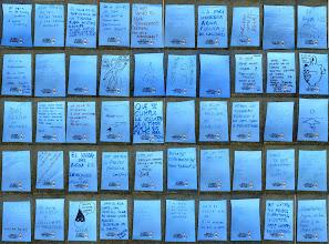 Photo: Mensajes del Mural de Lavapiés.
