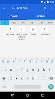 Screenshot of Dictionary - WordWeb