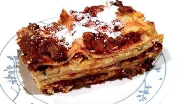 Cassies Crockin Lasagna Recipe