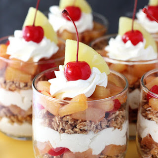 Pineapple Upside Down Trifles