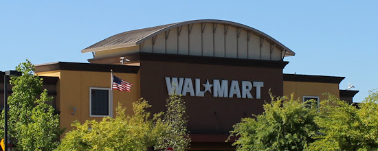 Photo: I just love shopping at Walmart! It was the perfect place to begin our book donation collection. :)