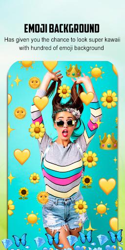 Emoji Background Photo Editor 1.4 Screenshots 2