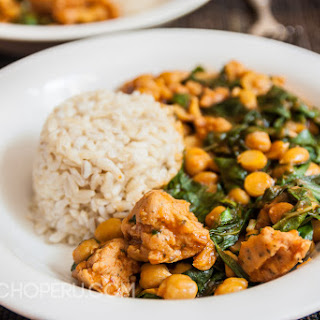 Peruvian Chickpea Stew with Chard