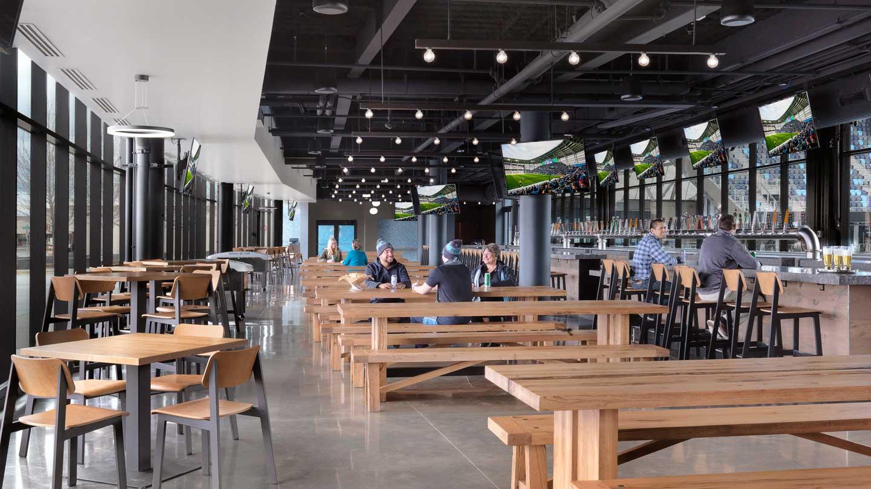 The Brew Hall Allianz Field