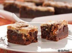 Fudge Cheesecake Bars