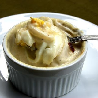 Hard-Boiled Egg Gratin In A Bechamel Sauce