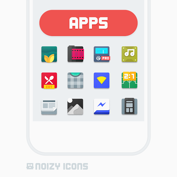 Noizy Icons v2.1.3 [Patched]