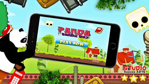 パンダ実行し ジャンプゲーム無料