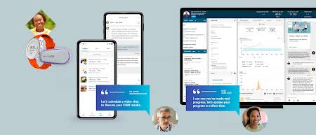 Onduo slide show 02 - The app provides access to a certified care team