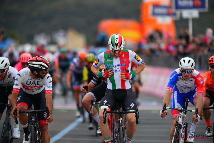 Elia Viviani geeft na tweede plek in derde rit in Zwitserland hét pijnpunt uit de Giro toe