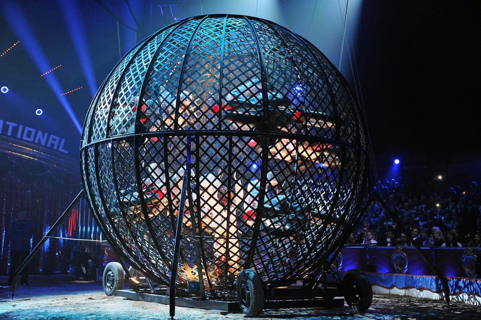 Globe de la mort varanne