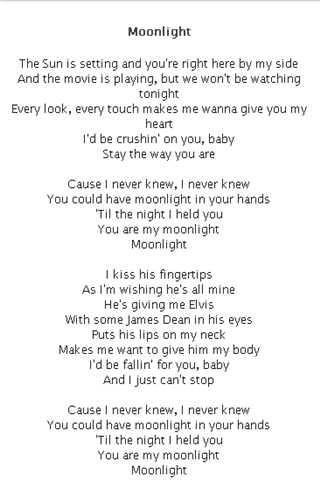 Ariana Grande Lyrics - Android Apps on Google Play