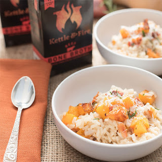 Butternut Squash Beef Broth Risotto