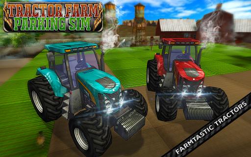 Tractor Farm Parking Sim