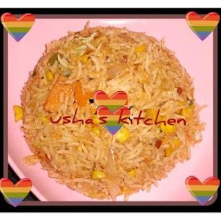 Quick Schzewan Rice