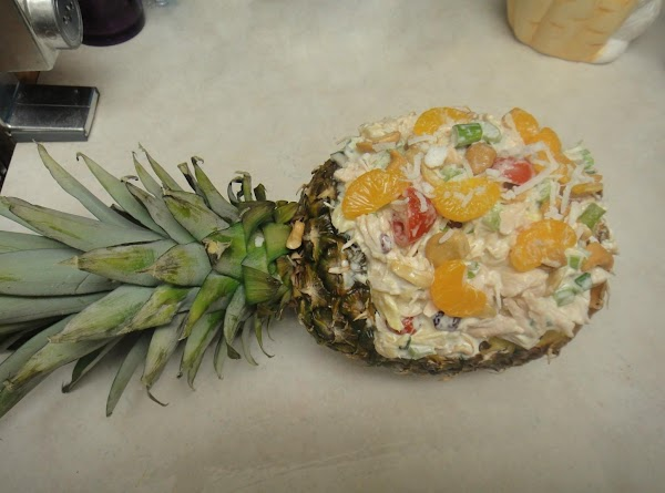 Pineapple, Cashew, Grapes, And Chicken Salad Recipe