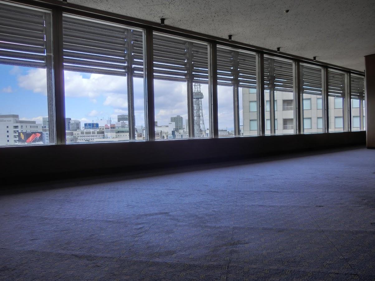 中日ビル12階クラブ東海から見た風景