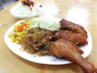 后呂村雞腿飯