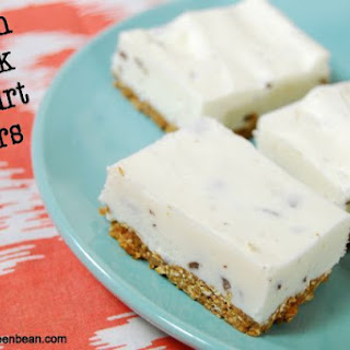 Frozen Greek Yogurt Bars Recipe