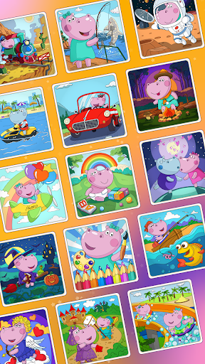 Color by Number for Kids 1.0.8 screenshots 10