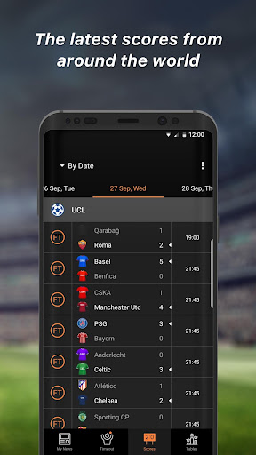 90min - Live Soccer News App  4